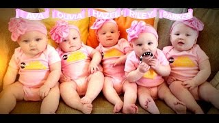 First All-Girl Quintuplets Appear on 'GMA'