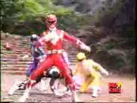 Mighty Morphin Power Rangers : Green Ranger Goes Crazy! video