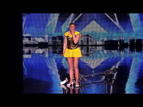 Red Panda - Bowl Balancing Mistake - America's Got Talent 2013
