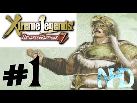 Dynasty Warriors 7: XL(JPN PC)Wei Yan Gameplay#1