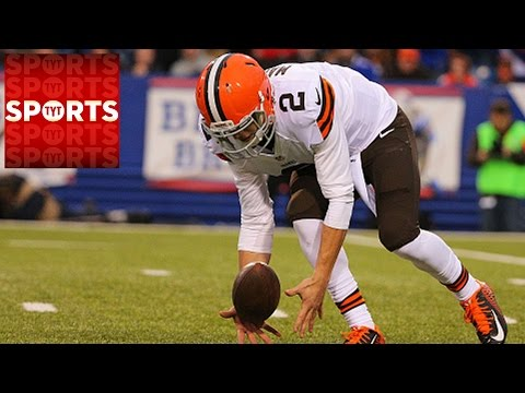 Johnny Manziel Replaces Hoyer [Cleveland Browns 10 Buffalo Bills 26]