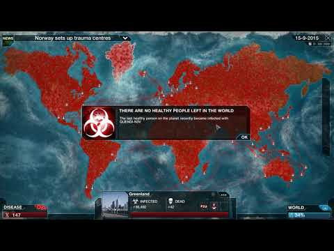 Plague Inc. Evolved Gameplay #3 Virus en Normal FR