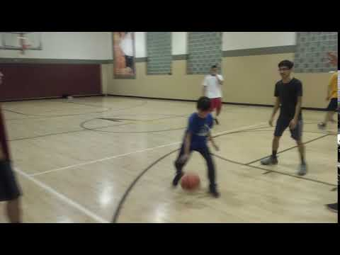 Raphael Shooting A Basket - La Fitness (Whittier)