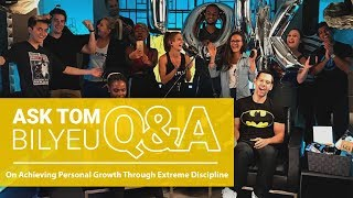 Q&A on Achieving Personal Growth Through Extreme Discipline