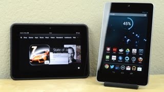 Review: Kindle Fire HD vs Nexus 7
