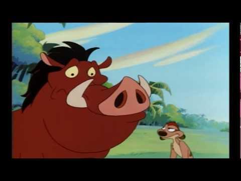 Timon és Pumba- Az elefánt soha nem felejt !!!