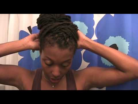 black beauty hairstyles. Tags: beauty hairstyle tutorial updo dreadlocks dreads locs bun chescaleigh