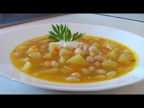 Суп из фасоли с картофелем видео рецепт. Книга о вкусной и здоровой пище