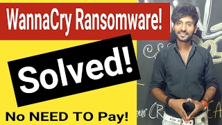 Solved-WannaCry Free Decryption Tool Released, No need to Pay Ransom now