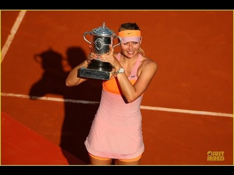 Maria Sharapova Wins Second French Open at 2014 Roland Garros