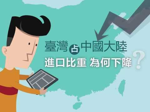 臺灣占中國大陸進口比重為何下降?