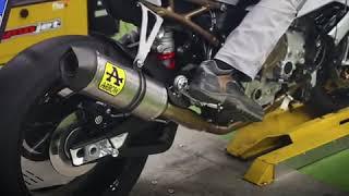 [ Test sound ] BMW S1000RR 2019 pô Arrow full system trên sàn Dyno