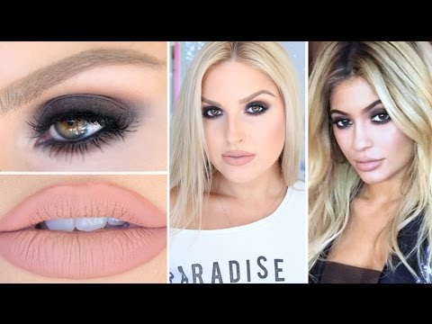 Kylie Jenner Inspired Smokey Eyes ♡ BH Cosmetics Shaaanxo Palette!