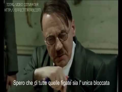 Hitler scopre che Jerry Porker è stato eliminato da youtube