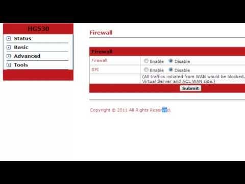 Tips O Posibles errores al abrir Puertos en router HUEWAI HG530