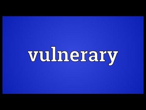 Header of vulnerary