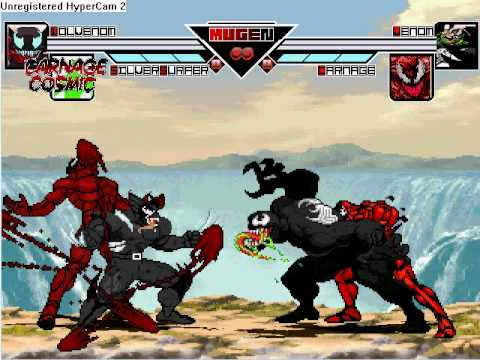 Wolvenom and Carnage Cosmic vs. Venom and Carnage