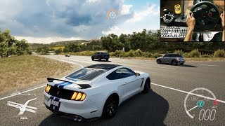 Shelby Mustang GT350R - Forza Horizon 3 (Logitech g29) gameplay