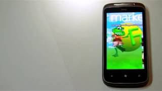 HTC 7 Mozart with Windows Phone 7 series hands on first look