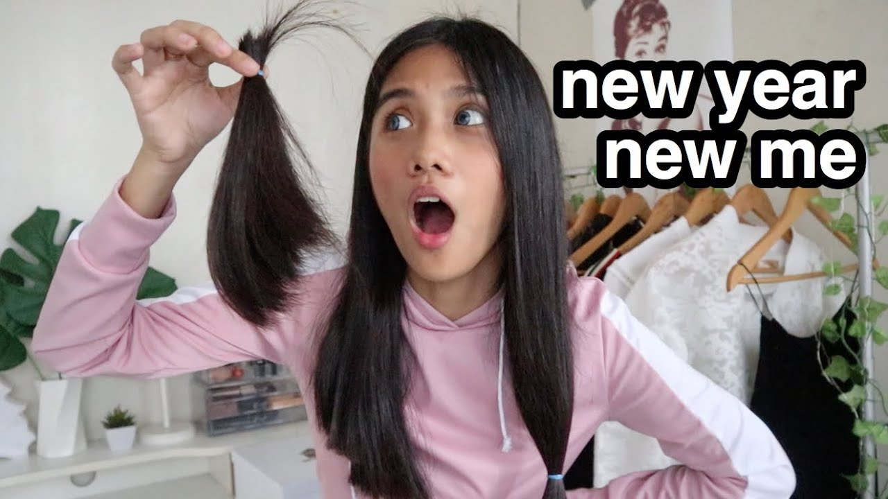 CUTTING MY HAIR! (nagkamali ako)