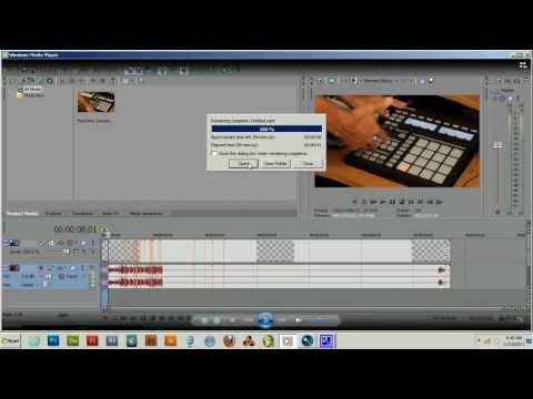 Sony Vegas Pro 11 Render Fix