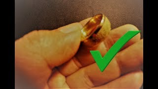 CTX3030 hit GOLD, GOLD, i found VERSACE 18K GOLD RING metal detecting