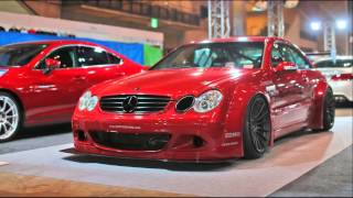 mercedes benz clk c209 a209 tuning cars