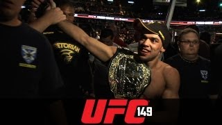 UFC 149: Renan Barao Post-fight Interview