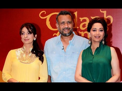 Madhuri Dixit & Juhi Chawla Promotes 'Gulaab Gang' Upcoming Movie