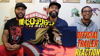 "My Hero Academia ""Two Heroes"" Movie Trailer Reaction"