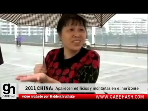 IMAGENES IMPACTANTES: APARECEN EDIFICIOS Y MONTAÑAS INSTANTANEAMENTE EN EL HORIZONTE DE CHINA 2011