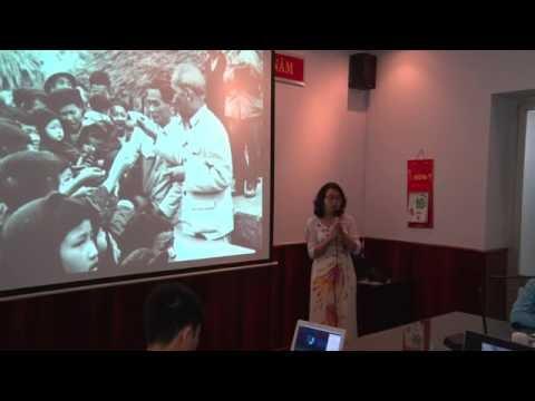 Phần thi kể chuyện của Ngoc Mai về tấm gương đạo đức Hồ Chí Minh