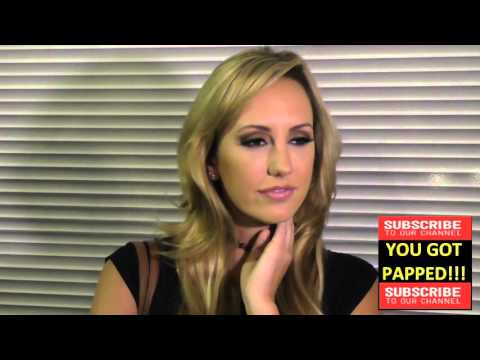 Brett Rossi talks about her ex Charlie Sheen and about her new book Katsuya Restaurant in Hollywood