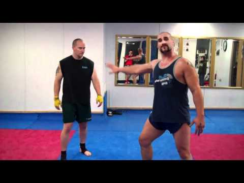 Muay Thai Round kick Hip Extension Drill Image 1