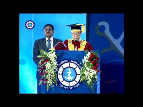 First Convocation of Indian Maritime University held on 22.02.14 (Part - I)