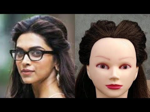 Easy //Quick Side puff Hairstyle Inspired By Deepika Padukon Hairstyle