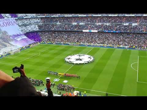 Intro himno Champions League en el Real Madrid vs Bayern Munich thumbnail