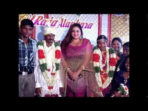Namitha gave shock to a new married Couple