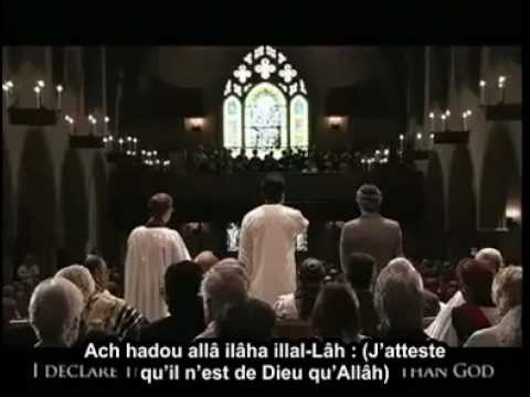 Magnifique ADHAN dans une église/A beautiful AZAN in the CHURCH!!!