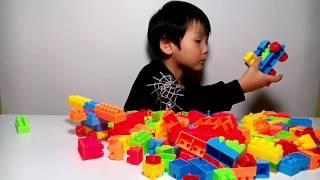 trò chơi lắp ráp - hướng dẫn lắp ráp mô hình - đồ chơi trẻ em