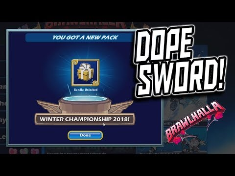 WINTER CHAMPIONSHIP PACK HYPE!!! - Brawlhalla Ranked 2's w/ a Sub