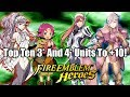 Fire Emblem Heroes: Top Ten 3* and 4* Units To Merge To +10!