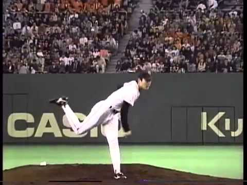 Koji Uehara First Game in Japanese Professional Baseball
