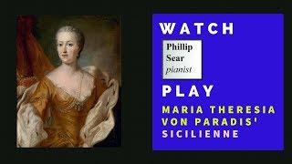 Maria Theresia Von Paradis Sicilienne E Flat