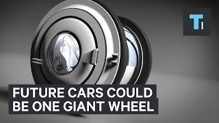 Future cars could look like one giant wheel