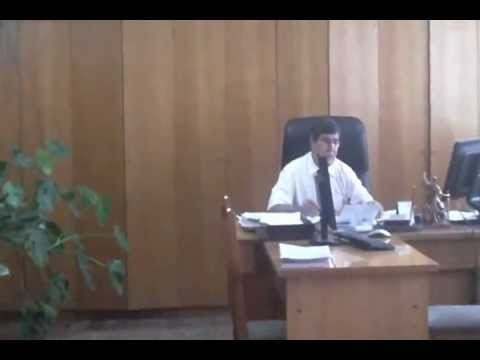 Preşedintele judecătoriei Rîşcani interzice filmarea…