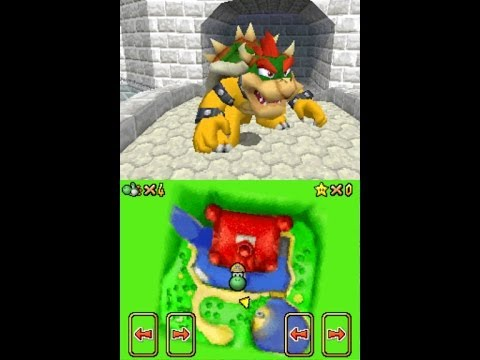 SM64DS - Playing as Bowser