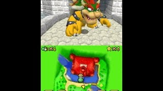 SM64DS - Playing as Bowser | 【スーパーマリオ64DS】制御クッパ