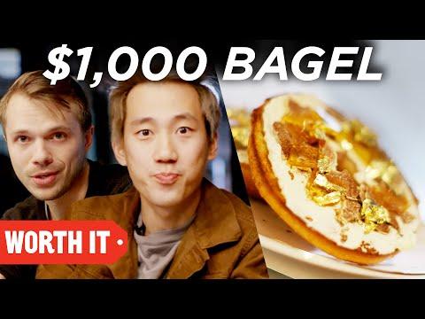 $1 Bagel vs. $1,000 Bagel