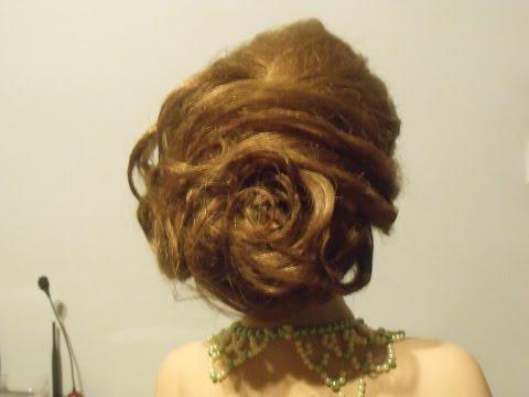 Róża Z Włosów. Hairstyle Tutorial.